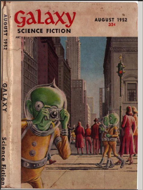 Galaxy Magazine published James Blish's Surface Tension